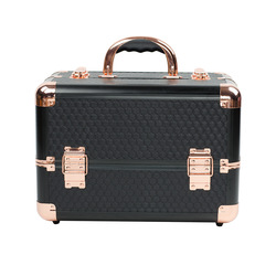 Top Grade Make Opbergdoos Manicure Beauty Box Cosmetische Tas Koffer Type Aluminium Make-Up
