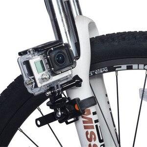 Image 2 - Draaibare Fiets Quick Release Zip Tie Strap Mount Houder Clip Voor Gopro Hero 8/7/6/5/4/3/3 +/2 Xiaomi Yi Sport Camera