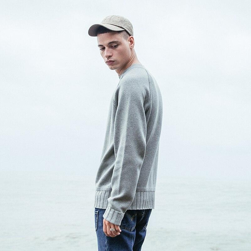 VIISHOW мужской свитер, пуловер, брендовая одежда, качественный мужской белый свитер на осень и весну, Рождественский свитер, ZC1753173 - 4