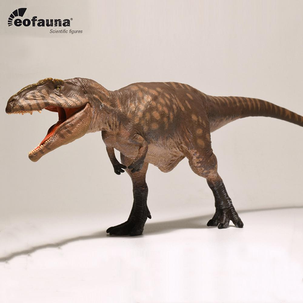 Movable Jaw Acrocanthosaurus Solid Plastic Dinosaur Figure Toy Model Best Gift