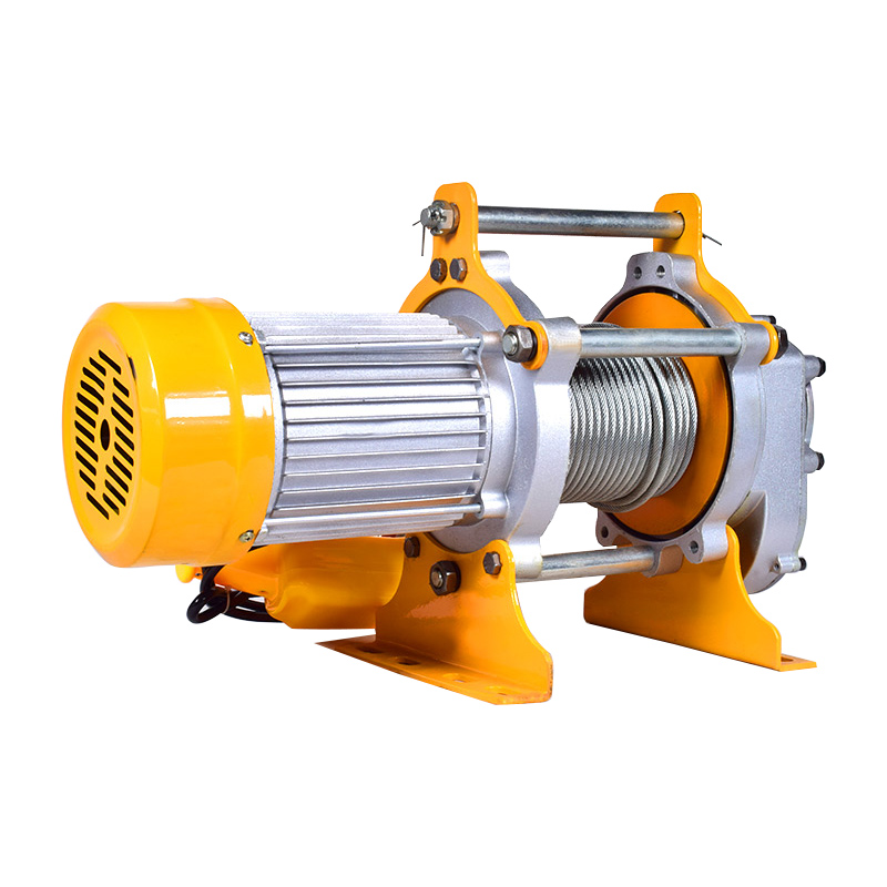 220v/380v 1-1.5T 30m Crane Hoist Wire Rope Electric Hoist Aluminum Shell Hoist Household Indoor Small Crane Hoist