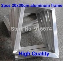 Darmowa wysyłka tanie 2 szt. Sitodruk rama aluminiowa poza rozmiarem 20x30CM