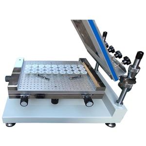 Image 5 - 表面実装エレクトロニクス YX3040 デスクトップ自動シルクスクリーン印刷機半自動シルクスクリーン印刷 pnp 機システム