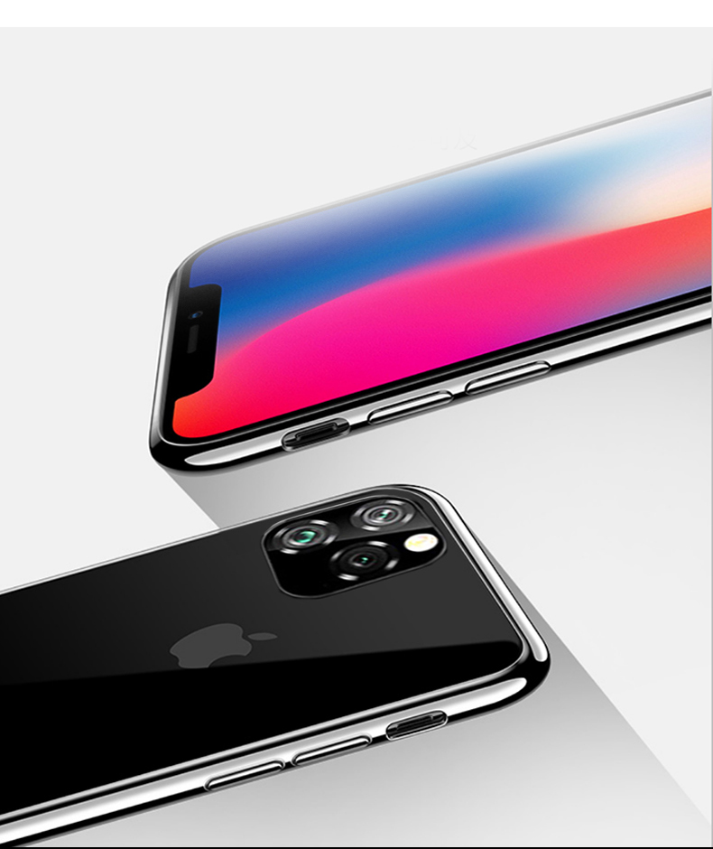 Bright Crystal Clear Case for iPhone 11/11 Pro/11 Pro Max 9