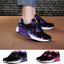 Training Shoes Women Sneakers for Breathable Running Sports Shoes Increased Air Cushion Casual Shoes(China)