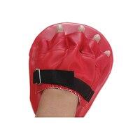 1pc plutônio mão alvo 5 dedos mitt foco almofada de perfuração para karate boxe thai marcial zj55