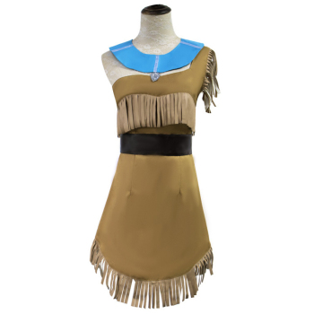 Adult Bueaty Sexy Princess Pocahontas Costume Women Girls Indian Cosplay Costumes Fancy Halloween Costumes For Women Plus Size virginia watson princess pocahontas