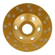 Алмазный сегментный шлифовальный круг 4 дюйма чашка для точильного