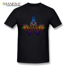 Shaman T Shirt T-Shirt Short-Sleeve 100 Percent Cotton Tee Funny Streetwear Graphic Man Plus size Tshirt