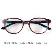 نظارات طبية للنساء نظارات للقراءة مضادة للانعكاس عدسات طبية عالية الجودة + 1.75 + 2.25 + 2.5 + 2.75 + 3 + 3.5 + 3.75 + 6 + 5.75
