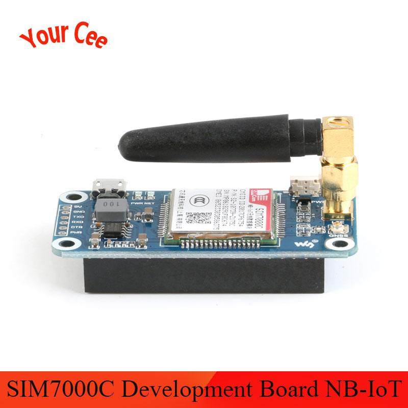 SIM7000C Module SIM7000C Development Board NB-IoT/eMTC/EDGE/GPRS/GNSS/GPS 4G Communication Expansion Board for Raspberry Pi(China)