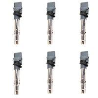 022905715A New 6pcs ignition coil ignition system For Porsche Cayenne VW CC Passat Audi Q7