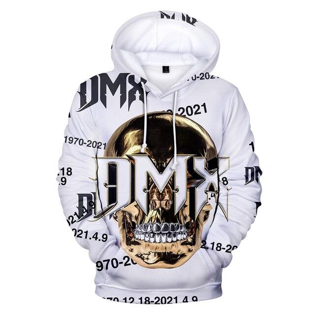 Hoodie DMX Hoodies Women DMX Boys and Girls Hoodie Pullovers Full Sleeve Casual Clothing Style 1