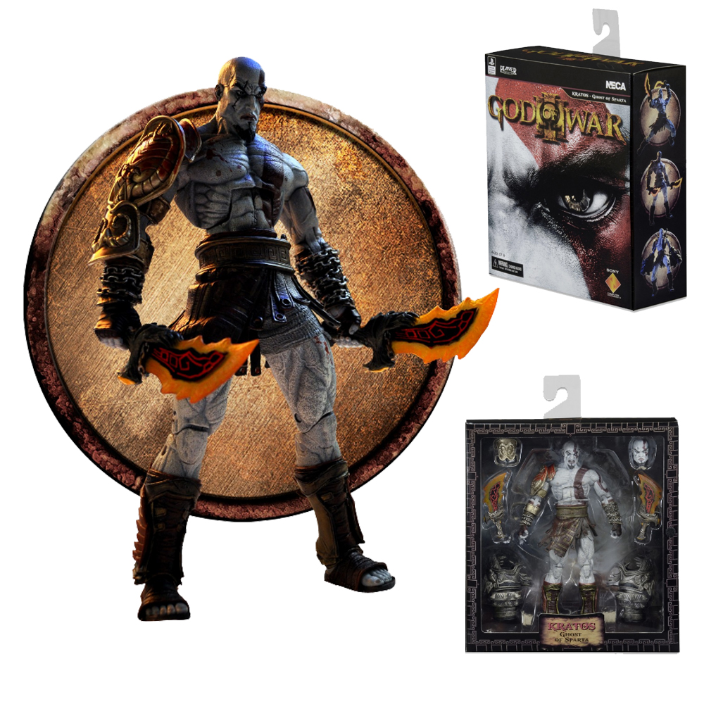 Neca God Of War Ghost Of Sparta Kratos Pvc Action Figure Collectible Model Toy Gift Boxed Mega Offer Cb0f46 Cicig