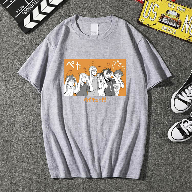 HAIKYUU THEMED T-SHIRT (4 VARIAN)