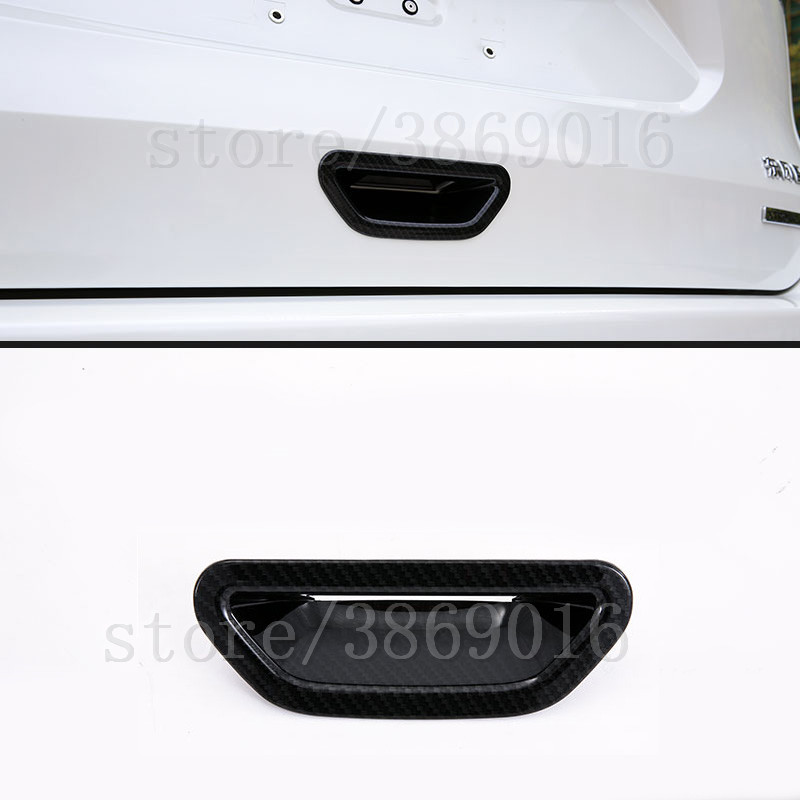 ABS Chrome Rear Behind <font><b>Door</b></font> <font><b>Handle</b></font> Bowl Cover Cap Trim 1 Pcs For <font><b>Nissan</b></font> <font><b>X</b></font>-<font><b>Trail</b></font> <font><b>X</b></font> <font><b>Trail</b></font> T32 Rogue 2014 2015 2016 2017 2018 2019 image