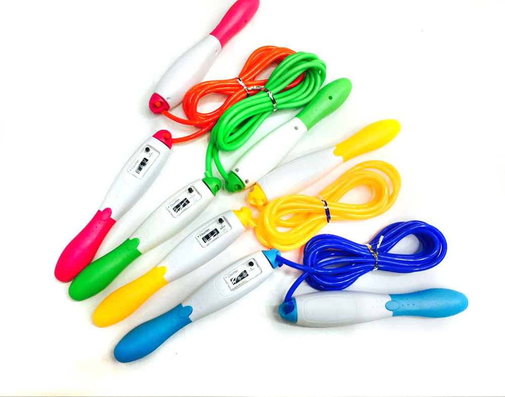 Tomohiro Count Jump Rope PVC Rope OPP Bag Packaging Four Colors Selectable Are All OK