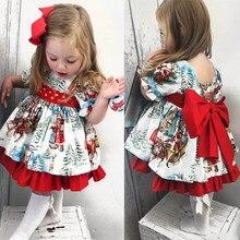 Baby Girl Dress vestido bebe فساتين اطفال Christm