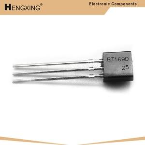 50 peça bt169d bt169 to-92 triacs tiristor scr 400v 9a 3 pinos spt novo original em estoque