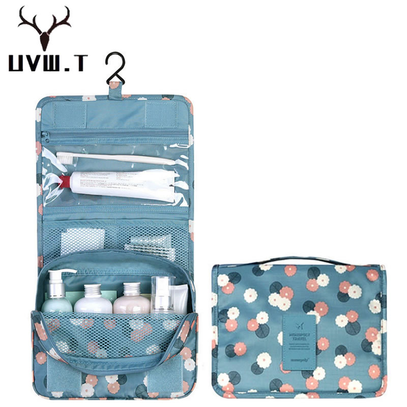 Travel Hanging Large Capacity Packing Organizers Make Up Case Toiletry Women Beauty Wash Cute Storage Bag Travel Cosmetic Bag