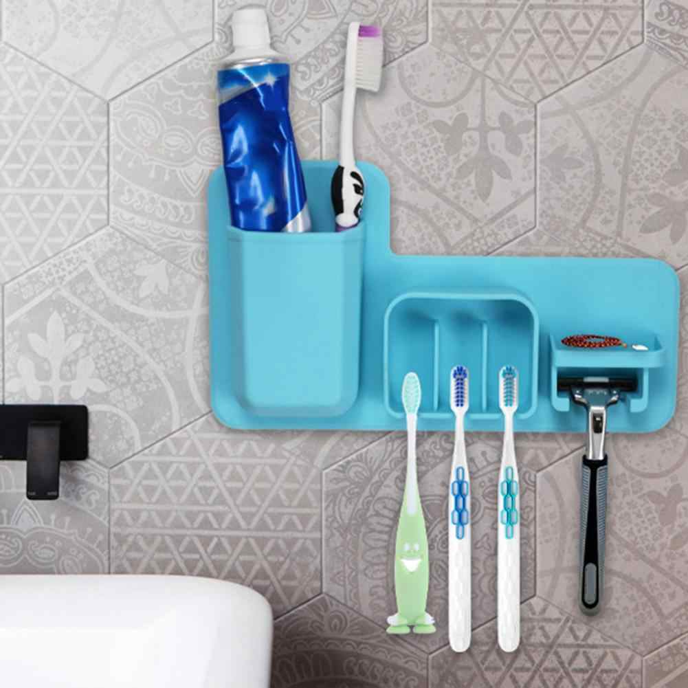 Toothbrush Holder Shaving Makeup Brush Electric Teeth brush Toothpaste   Holder