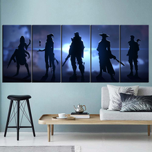 Video Game Valorant Oil Painting Art Print Wall Canvas Stickers Poster for Home Decor