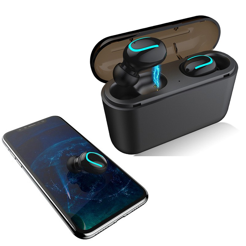 For Samsung Galaxy Note 10 Plus 10+ 9 8 S10 5G S10e S10+ <font><b>S9</b></font> S8 <font><b>Bluetooth</b></font> Earphone With Charging Box Wireless Headphone With Mic image