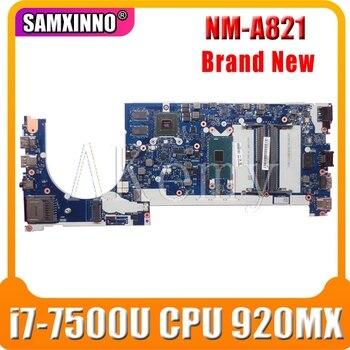 For Lenovo ThinkPad E470 E470C laptop motherboard CE470 NM-A821 MAIN BOARD I7-7500U CPU 920MX GPU full tested
