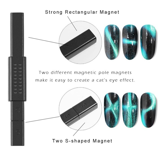 Nail Tools Cat Eye Magnetic Rod Powerful Magnet Suitable for cat eye gel polishing beauty nail tools Nail Art Decoration 4