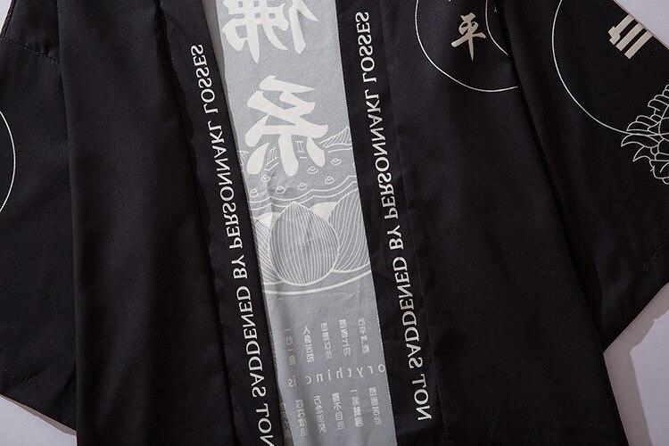 haori kimono obi japonês roupas roupa masculina cardigan kimono samurai