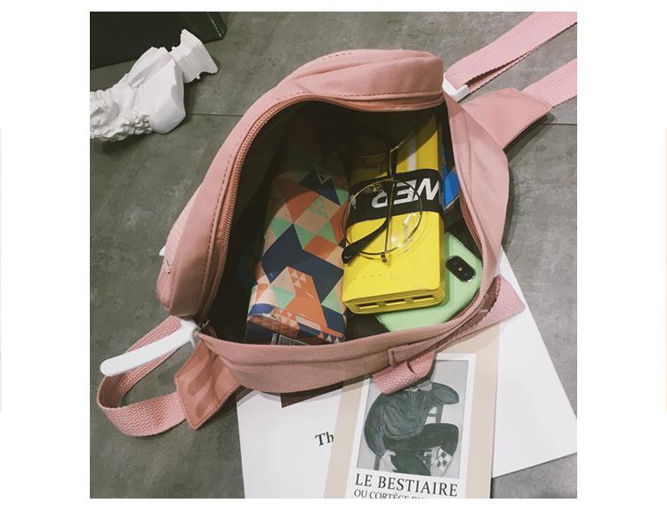 Menghuuo Waist Bag Women Fanny Packs Belt Bag Luxury Brand Nylon Chest Handbag 5 Colors 2018 New Fashion Hight Quality Waist Bag_45