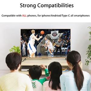 Image 2 - MHL HDMI ケーブル Android のタブレット用スマートフォン携帯電話 Xiaomi Redmi 8 Samung S10 Lite Huawei 社の名誉 20 HDTV HDMI 充電器