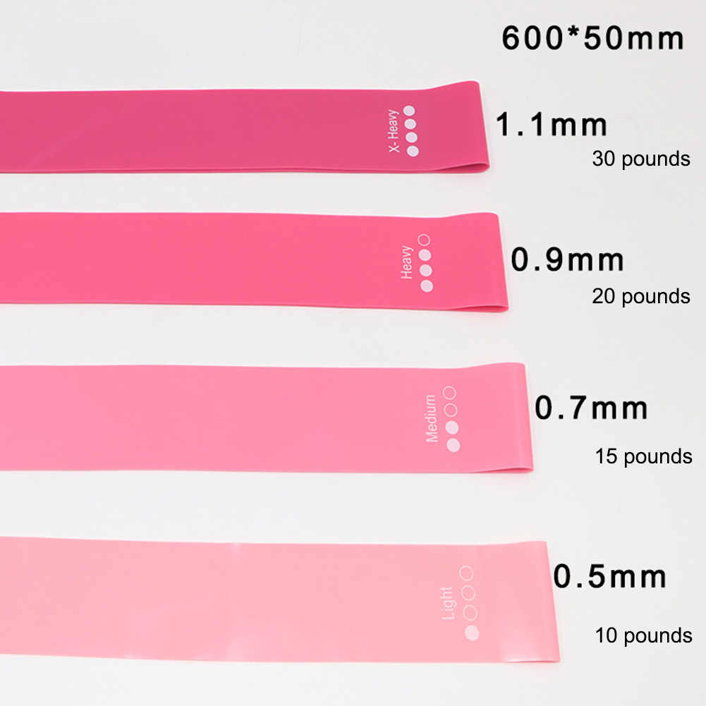 4 Pcs Training Oefening Gym Sterkte Weerstand Bands Pilates Sport Latex Fitness Bands Crossfit Workout Apparatuur Nieuwe O16