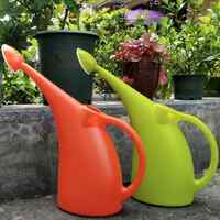 3L Long Mouth Watering Pot Green Plant Pot Watering Gardening Tool Plastic Watering Can For Planting Watering Flower Plant