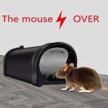 New Mousetrap Live Mouse Trap No Kill Plastic Reusable Small Mousetrap Rat Trap Rodent Catcher Pest Control Garden Supplies