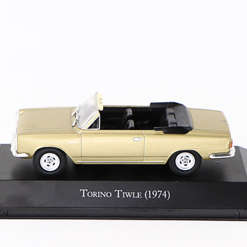 1:43  IXO TORINO TIWLE (1970) METAL CAR PERFECT SIZE AND WEIGHT  COLLECTION GIFT TOY 1