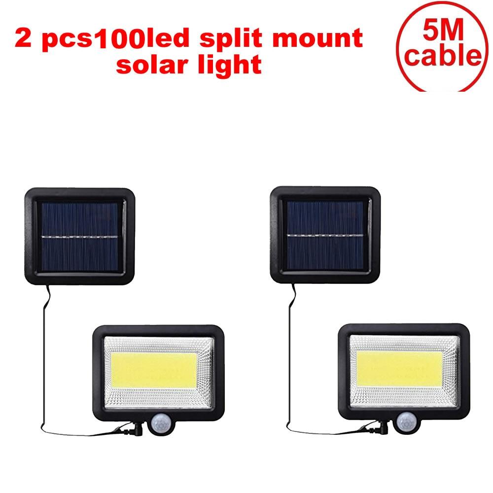 1-10 Pcs Solar Garden Light LED Solar Lamp Motion Sensor Waterproof Outdoor Lighting Street Lights Security Wireless Wall Lamp