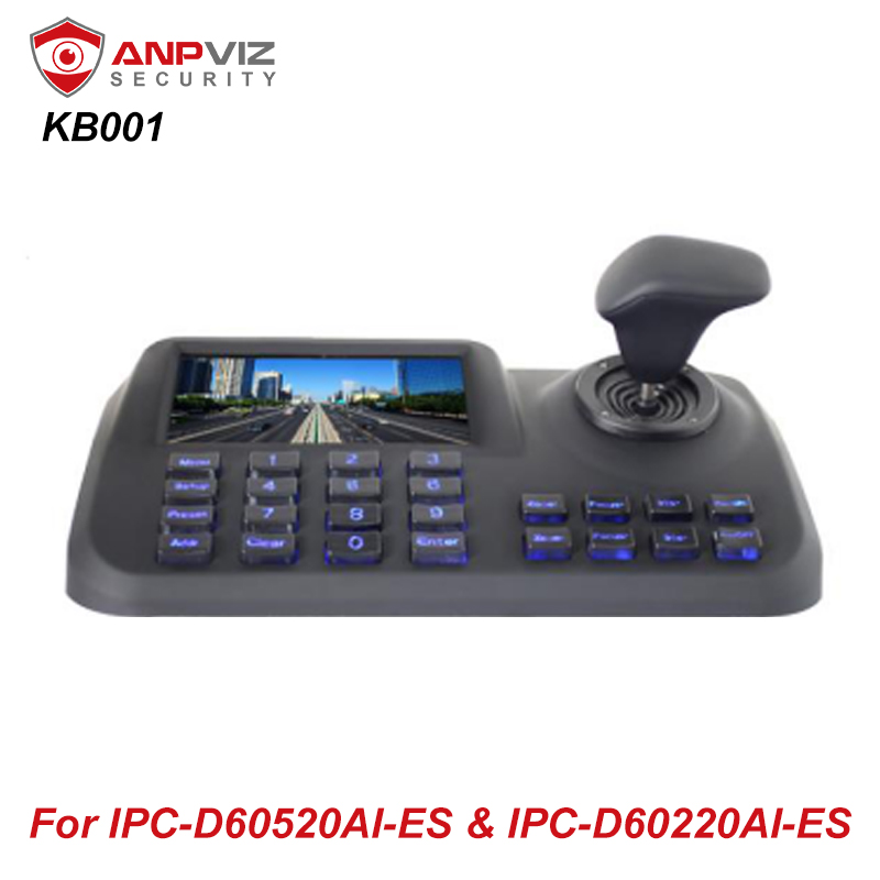 Anpviz Onvif Cctv Ip Ptz 3d Joystick Network Keyboard Controller With 5 Inch Hd Lcd Screen For Ip Ptz Camera Cctv Accessories Aliexpress
