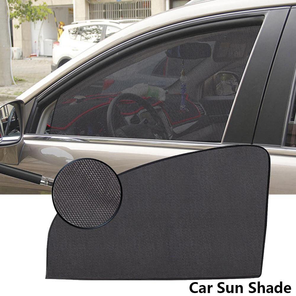 Magnetico Auto Tenda Da Sole UV di Protezione della Finestra di Automobile Parasole Tenda Finestrini Laterali Maglia Pellicole per vetri di Protezione della Visiera di Sun di Estate