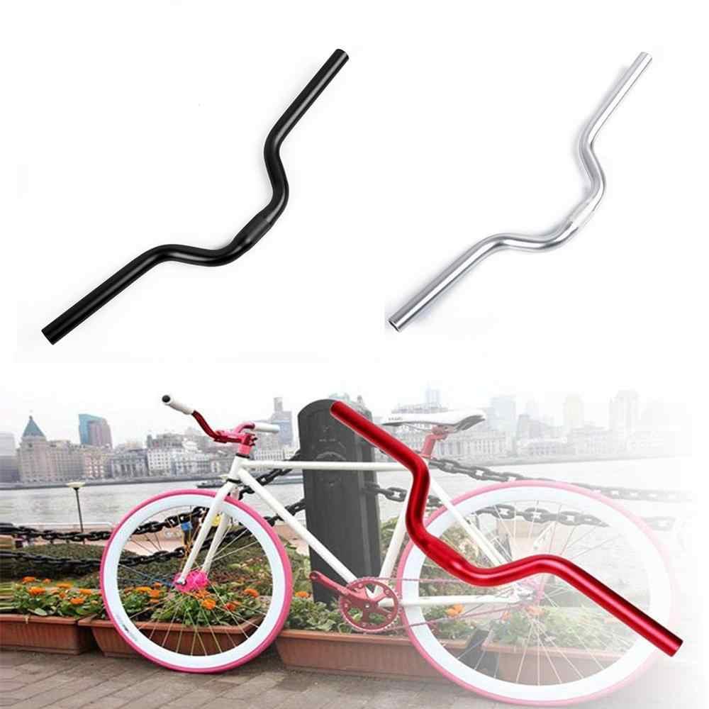 A 25,4 mm Handlebar Silver Aluminum Bike Bicycle MTB Mountain Bike City
