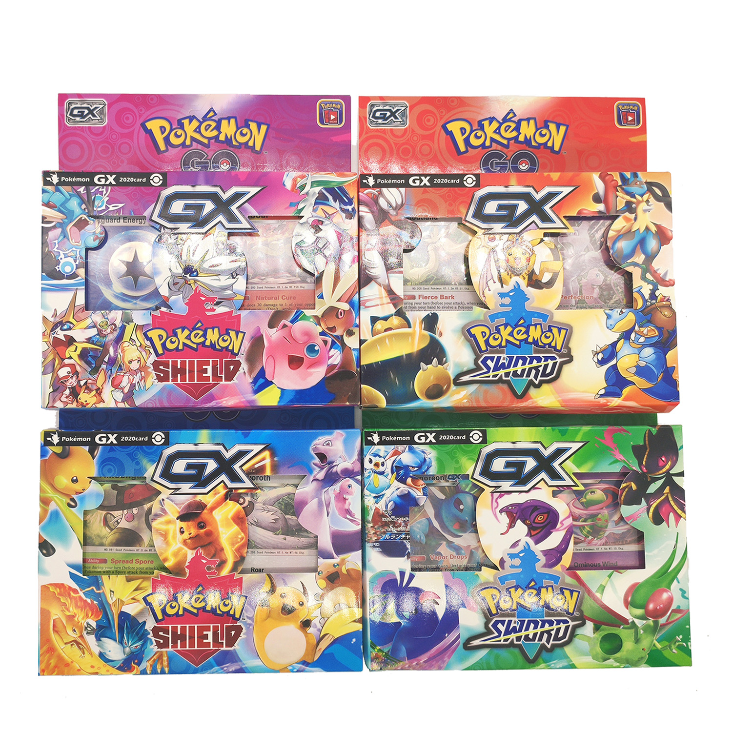 56pcs/set Pokemon TAKARA TOMY Battle Toys Hobbies Hobby Collectibles Game Collection Anime Cards for Children
