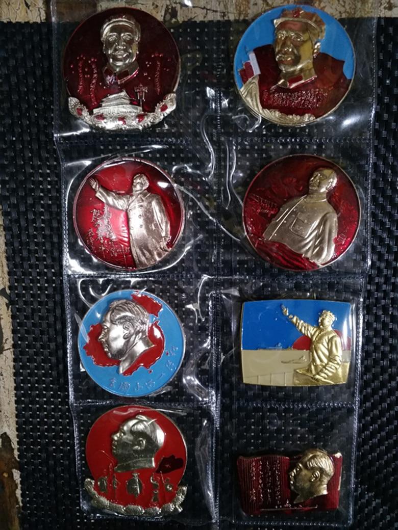 10 piezas keine repiten el gran líder de China, medalla de medalla conmemorativa del presidente MAO zedong