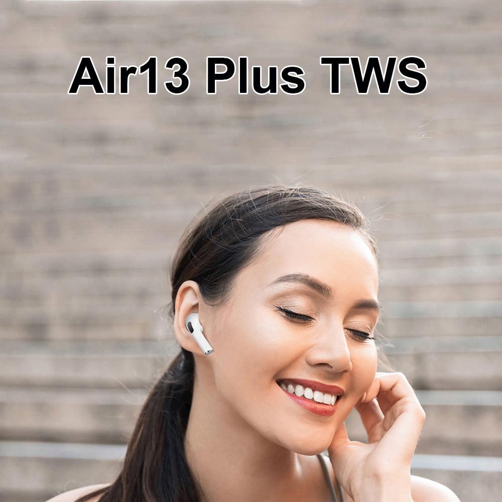 Air13 tws sem fio bluetooth 5.0 fone de ouvido com caso de carregamento pk i99999 i90000 tws