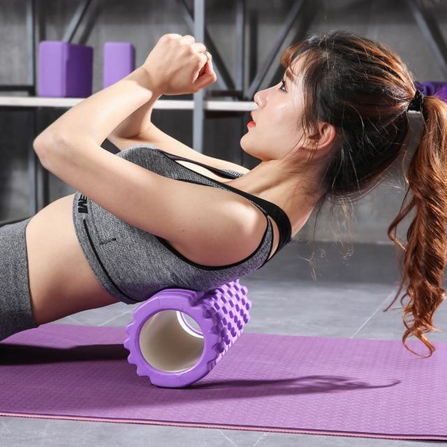 Hot Offer #f415ab - 30cm Column Yoga Block Fitness Equipment Pilates Yoga  Foam Roller Fitness Sport Gym Exercise Muscle Massage Roller Yoga Brick |  Cicig.co