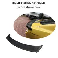 Fit For Ford Mustang Car Spoiler 2015 2019 Mustang Tail Wing Decoration High Quality Black Carbon Fiber Rear Trunk Spoiler