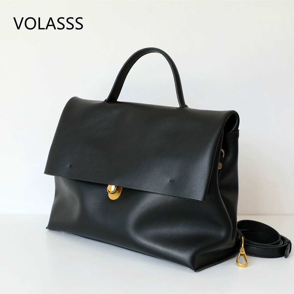 Luxury Handbags Women Bags Designer Female Women's Commuting Bag Office Work Briefcase Large Capacity Message Bag Shoulder Bags