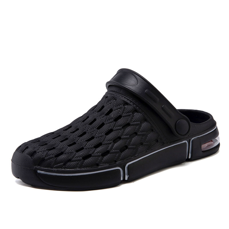 Rubber Slippers Men Summer Breathable Adjustable Sandals Anti Skid Beach Flip Flops Women Outdoor Wading Shoes for Walking