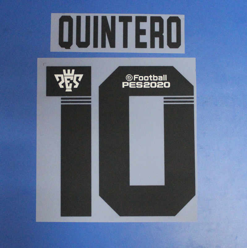 2018 2019 2020G. MARTINEZ 10 QUINTERO 8 nummer voor River Plate Hot stamping patches badges