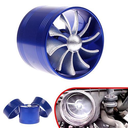 Auto F1-Z Einzigen Lüfter Air Intake Supercharger Fuel Gas Saver Turbo Turbinea Fan 2019