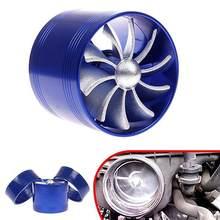 Auto F1-Z Enkele Ventilator Air Intake Supercharger Brandstof Gas Saver Turbo Turbinea Fan 2019